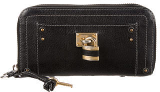 Chloé Chloé Paddington Leather Wallet