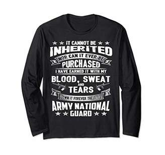Army National Guard Swea for young Long Sleeve Tee for Child