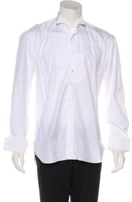 Borrelli French Cuff Tuxedo Dress Shirt