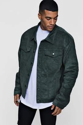 boohoo Oversized Cord Western Jacket