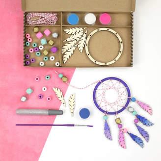 Your Own Cotton Twist Make Dreamcatcher Craft Kit Activity Box