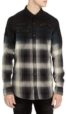 Buffalo David Bitton Silvont Ombre Button-Down Shirt