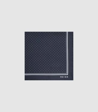 Reiss Jupiter Silk Pocket Square