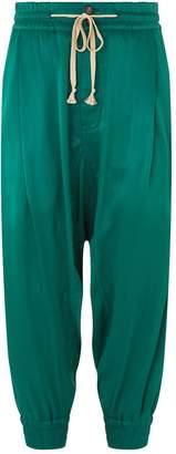 Vivienne Westwood Satin Drawstring Trousers