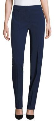 Armani Collezioni Solid Wool Pants $575 thestylecure.com