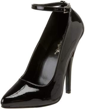 Pleaser USA Women's Domina-431 Ankle-Strap Pump
