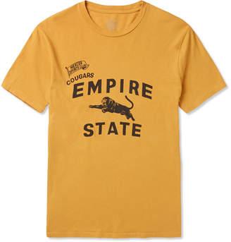 J.Crew Garment-Dyed Printed Cotton-Jersey T-Shirt