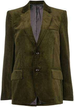 Golden Goose corduroy fitted blazer