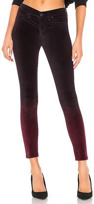 Hudson Jeans Nico Velvet Mid Rise Ankle Super Skinny