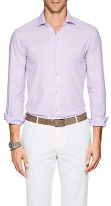 Barneys New York Men's Cotton Piqué Shirt