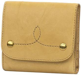 Frye Women's Campus Rivet Medium Snap Leather Wallet