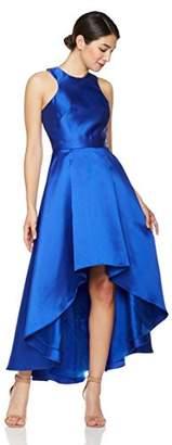 Social Graces Women's Sleeveless Mikado High/Low Dress