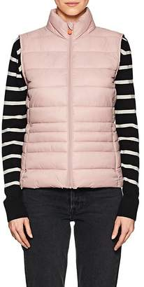 Save The Duck SAVE THE DUCK WOMEN'S CHANNEL-QUILTED TECH-FABRIC VEST