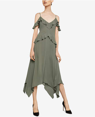 BCBGMAXAZRIA Lissa Asymmetrical Slip Dress
