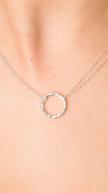 Adina Reyter Big Tiny Circle Neckl
