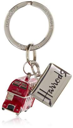 Harrods London Bus Keyring