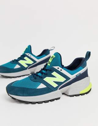 574 V2 trainers in blue