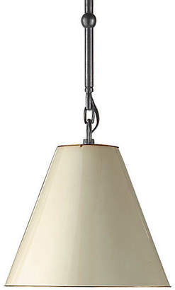 Visual Comfort & Co. Goodman Hanging Shade - Bronze/Natural