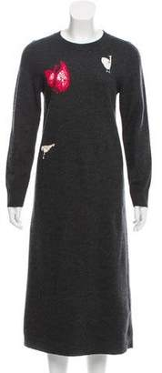 Celine Wool Sweater Dress