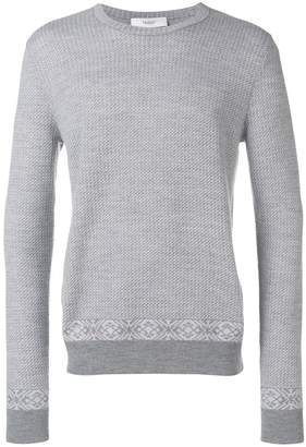 Pringle Fair Isle patch sweater