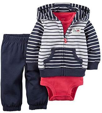 Carter's Baby Boys' 3 Piece Cardigan Set 121g416