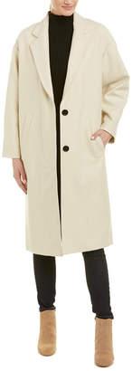 Isabel Marant Cody Wool & Cashmere-Blend Coat