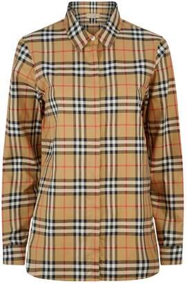 Burberry Long Sleeve Vintage Check Shirt