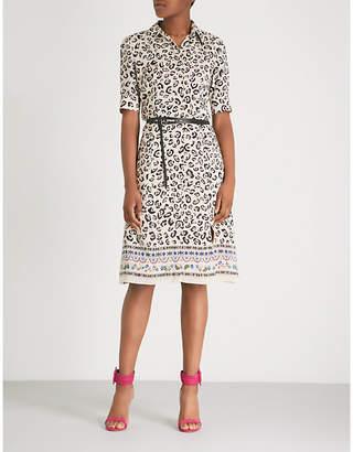 Altuzarra Kieran leopard-print silk-crepe dress
