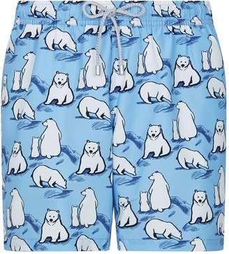 903f28e876 Bluemint Polar Bear Print Swim Shorts