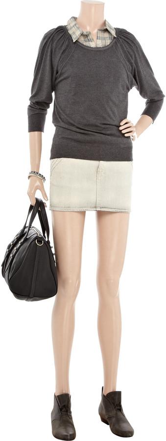 IRO Kavate denim mini skirt