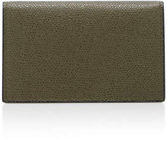 Valextra Onda Calfskin Business Card Case