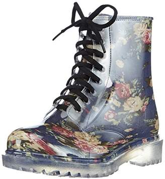 Chuva Women's YARA DAMESLAARS PVC Unlined Rubber Boots Half Shaft Boots & Bootees Multi-Coloured Size: 2 UK-3 UK