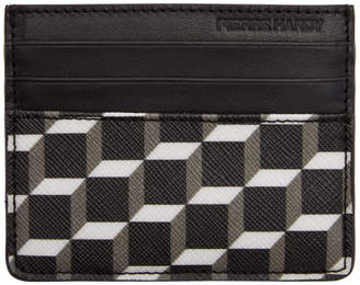 Pierre Hardy Black Cube Perspective Card Holder