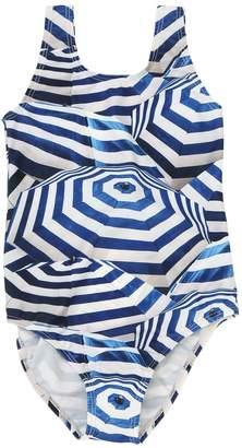 Molo Umbrella Print Lycra One Piece Swimsuit
