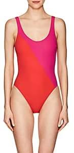 Araks Women's Harley Colorblocked One-Piece Swimsuit-Fuschia & Poppy