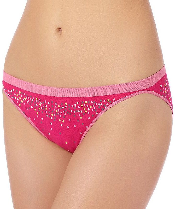 St. eve star seamless hi-cut bikini panty