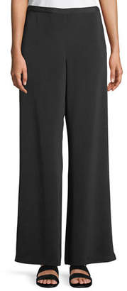 Go Silk Silk Wide-Leg Pants