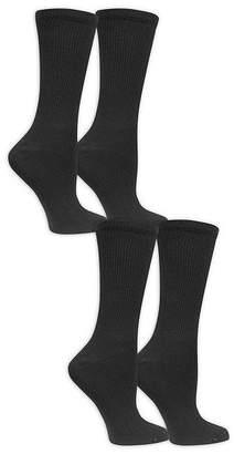 Dr. Scholl's Dr. Scholls Diabetes And Circulatory 4 Pair Crew Socks - Womens