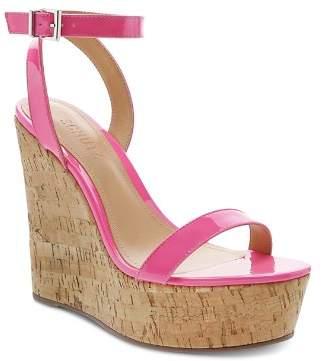 Schutz Women's Eduarda High-Heel Wedge Sandals