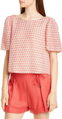 Club Monaco Ahlam Tie Back Top