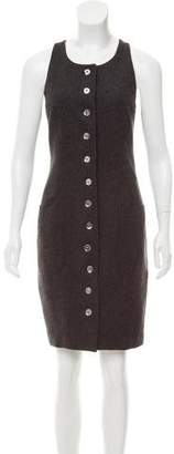 Fendi Wool-Blend Dress