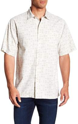 Tommy Bahama Geo Chaser Original Fit Short Sleeve Shirt