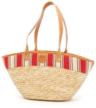 Il Bisonte Woven Straw Bag