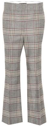 Joseph Ridge checked wool pants