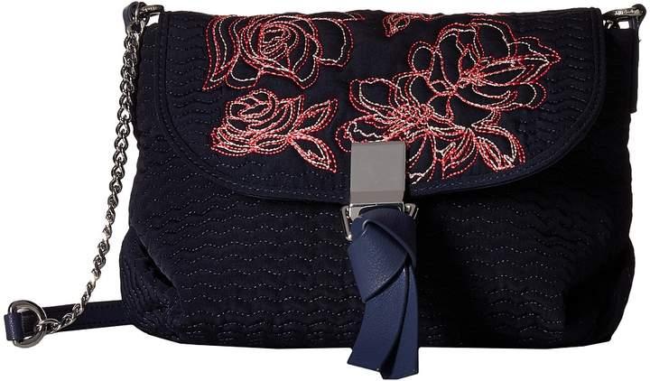 Vera Bradley Carson RFID Mini Crossbody Cross Body Handbags - CLASSIC NAVY - STYLE