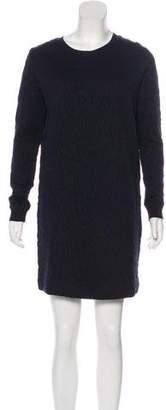 Cos Matelassé Mini Dress
