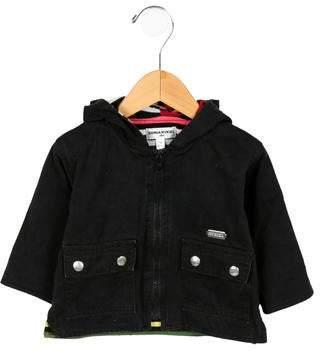 Sonia Rykiel Girls' Hooded Zip-Up Jacket