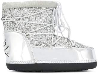 Philipp Plein glitter ankle high boots
