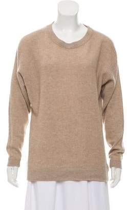 White + Warren Cashmere Rib Knit Sweater