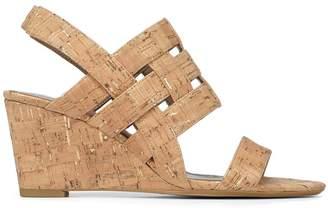 Donald J Pliner JOELA, Metallic Cork Wedge Sandal